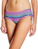 Marie Meili Women's Sonoma Hipster Striped Bikini Bottoms