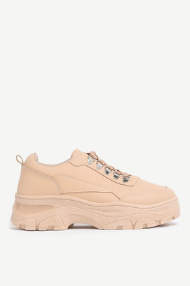 Ardene Chunky Faux Leather Sneakers