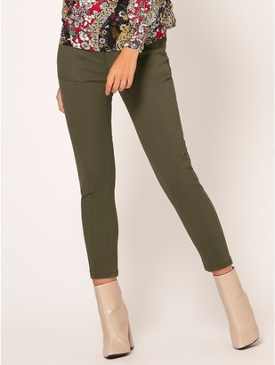 M&Co Petite utility pocket trousers
