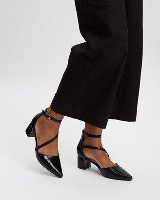 Spurr Women's Black All Pumps - Hansel Heels - Size 5 at The Iconic