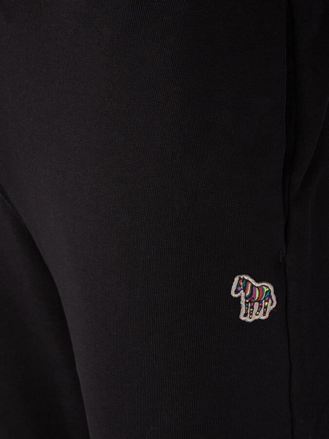 Thumbnail for your product : Paul Smith Zebra Logo Joggers - Black