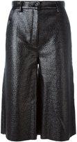 MM6 MAISON MARGIELA knee length shorts - women - Polyester/Polyurethane/Viscose - 38