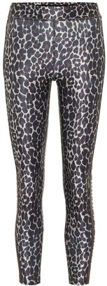 Golden Goose Nori leopard-print leggings