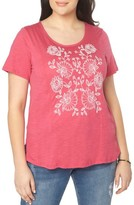 Evans Plus Size Women's Embroidered Tee
