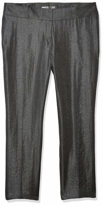 Kasper Women's Metallic Slim Pant