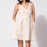 Maje Structured puffball dress