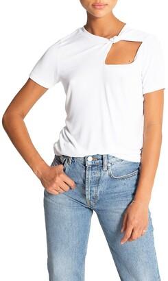 n:philanthropy Rosey Knot Collar T-Shirt