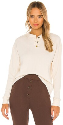 DONNI Thermal Henley Top