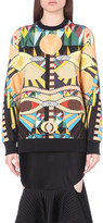 Givenchy Geometric-print cotton-jersey sweatshirt