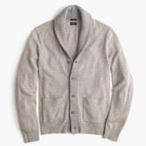 J.Crew Slim softspun contrast cardigan sweater