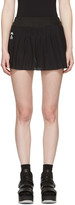 Fendi Black Perforated Tennis Skirt