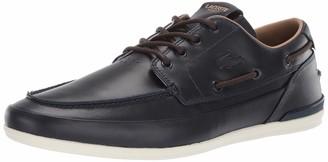 Lacoste Men's MARINA Sneaker tan/off white 7 Medium US