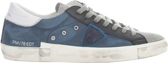 Philippe Model Low Sneakers Prsx W/ White Heel