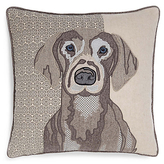 M&S Collection Applique Dog Print Cushion