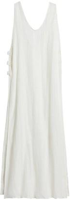 Vitamin A | Tradewinds Metallic Stripe Linen Dress