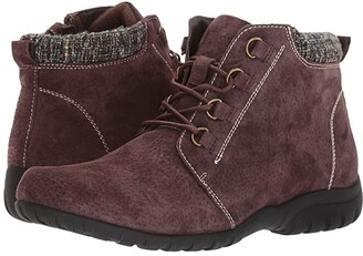 Propet Delaney (Brown Suede) Women's Boots