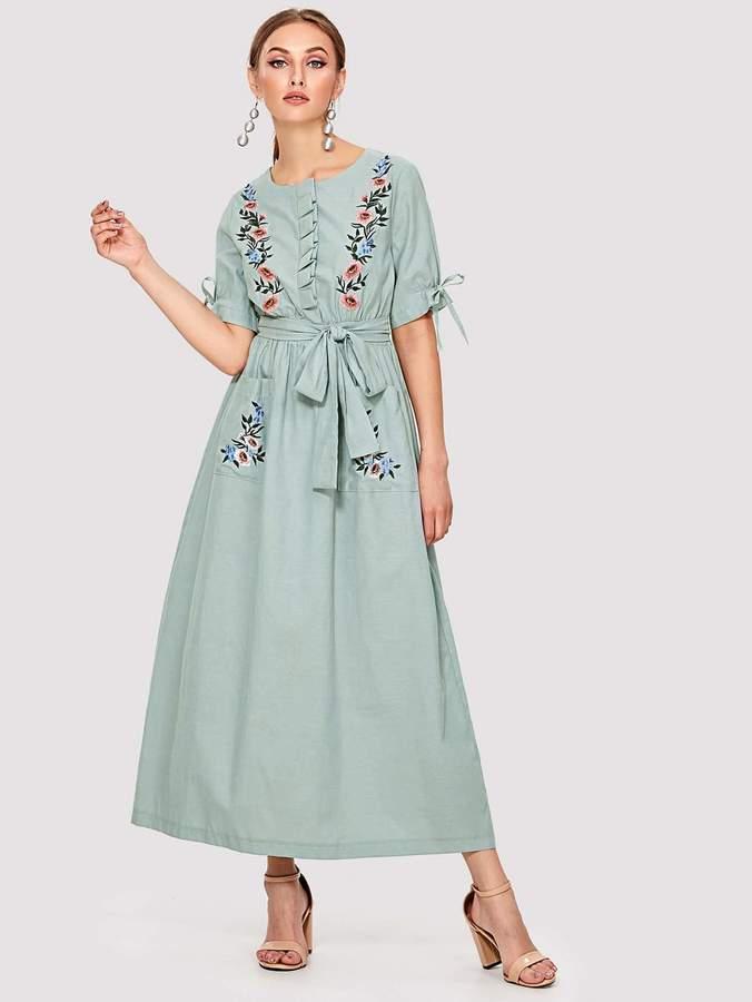 9ff916f910 Shein Long Dresses - ShopStyle