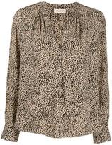 Zadig & Voltaire Tink leopard-print blouse