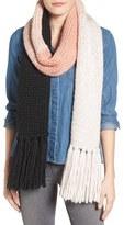 Kate Spade Women's Hand Knit Colorblock Muffler