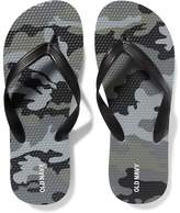 Old Navy Classic Camo-Print Flip-Flops for Boys