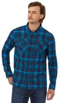Animal Blue Checked Regular Fit Shirt