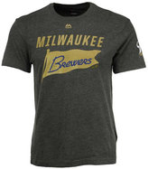 Majestic Men's Milwaukee Brewers Pennant Race T-Shirt