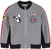 Dolce & Gabbana Graphic sweatshirt with fancy patches
