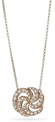H.Stern Rose Gold and Diamond Iris Necklace