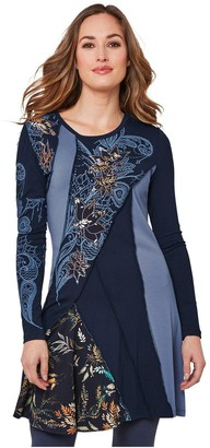Joe Browns Got It All Tunic - Blues