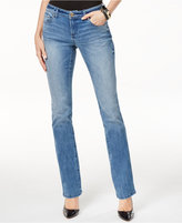 INC International Concepts Petite Bootcut Monday Wash Jeans, Only at Macy's