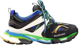 Balenciaga Track Blue Cloth Trainers