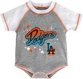 Majestic Newborn Creeper S/S Celebrate - LA Dodgers - 0/3