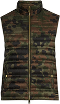 Burberry Camouflage-print down-filled gilet