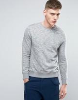 Esprit Basic Crew Neck Sweatshirt In Grey