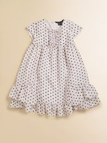 Little Marc Jacobs Toddler's & Little Girl's Hilly Silk Dotted Dress