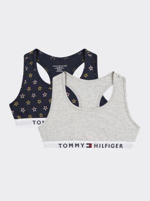 Tommy Hilfiger 2-Pack Organic Cotton Racerback Bralette