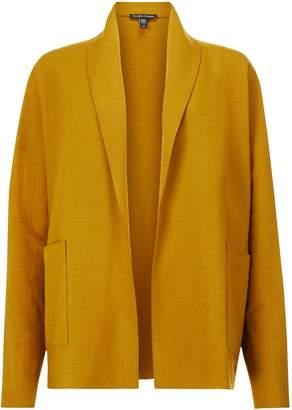 Eileen Fisher Short Kimono Jacket, Arnica