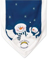 San Diego Chargers Snowman Table Runner