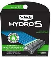 Schick Hydro Sense Sensitive Mens Razor Blade Refill with Sensitive Gel