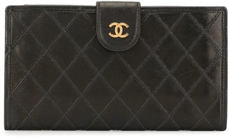 Chanel Pre Owned 1995 quilted Cosmos wallet