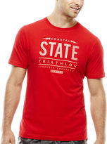 JCPenney Xersion Coastal State Graphic Tee
