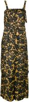 Christian Wijnants floral print jumpsuit