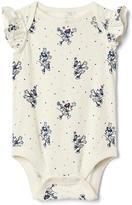 babyGap | Disney Baby Minnie Mouse flutter bodysuit