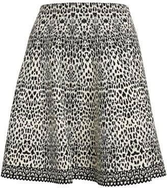 Alaia Mini Lynx Skirt