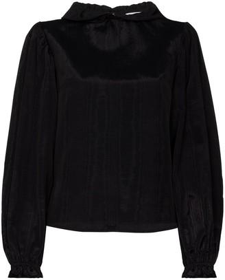 Batsheva Rory puff-sleeve blouse