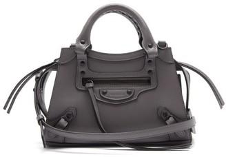 Balenciaga Neo Classic Mini Leather Bag - Grey