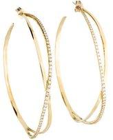 Lana 14K Large Diamond Mirage Hoop Earrings