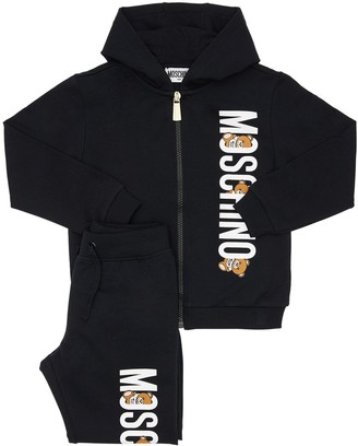 Moschino Cotton Blend Sweatshirt & Sweatpants