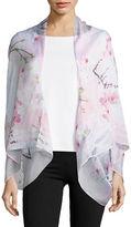 Ted Baker Oriental Blossom Silk Scarf