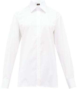 Emma Willis Selva Cotton Shirt - Womens - White